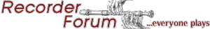 Recorder Forum Link