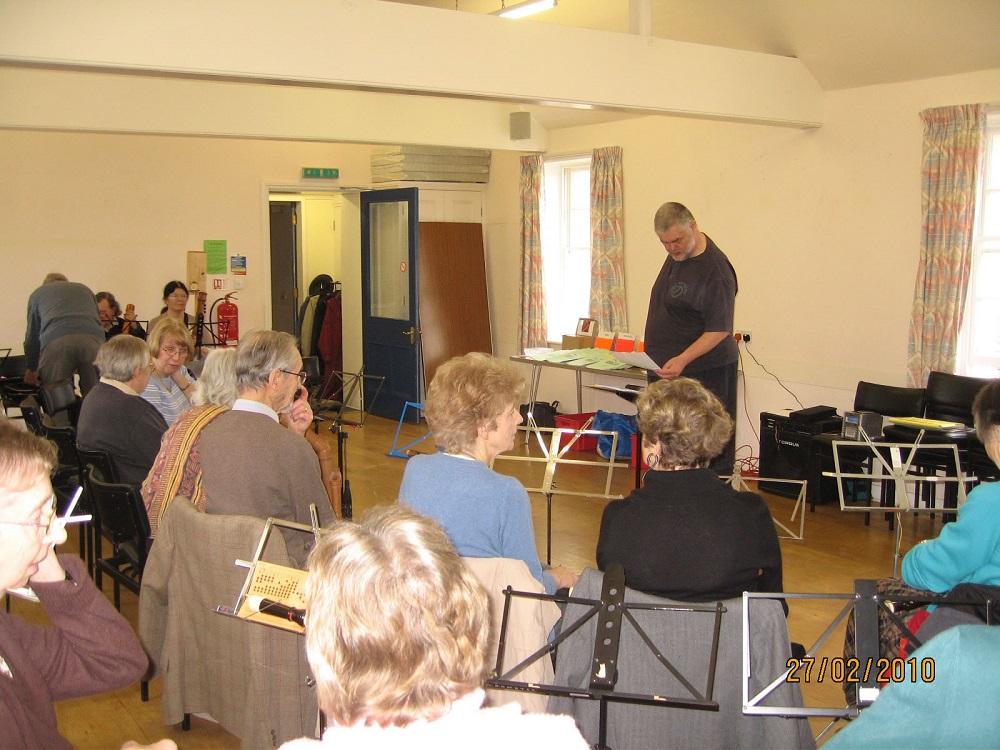 Steve Marshall Workshop 2010 - Photo 1