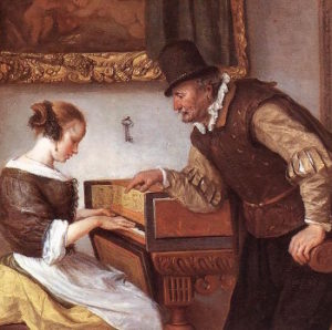 Steen Harpsichord Lesson