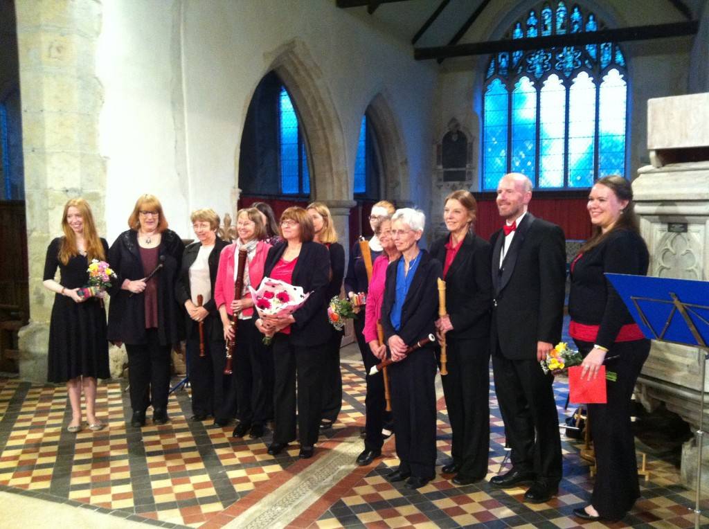 Kent Branch Concert at All Saints Church, Boughton Aluph, 2014