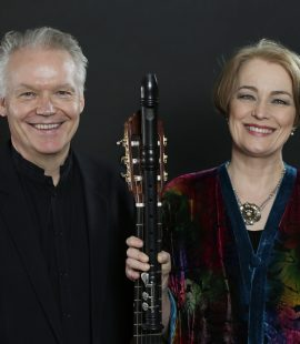 Michala Petri and Lars Hannibal