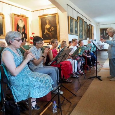 Performance at Ingatestone Hall on 3 June 2018