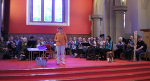 Caroline Jones Conducts the Glasgow Branch