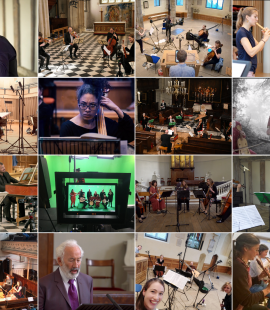 The 23 ensembles funded with the first round of Continuo Foundation grants.